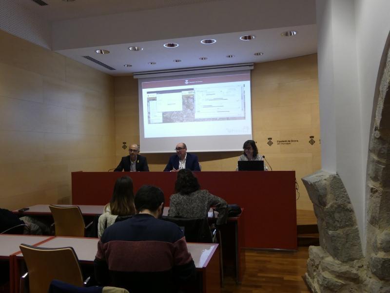 Foto 2 : Presentació de la nova integració al Sistema d'Informació Territorial Municipal (SITMUN)<br>