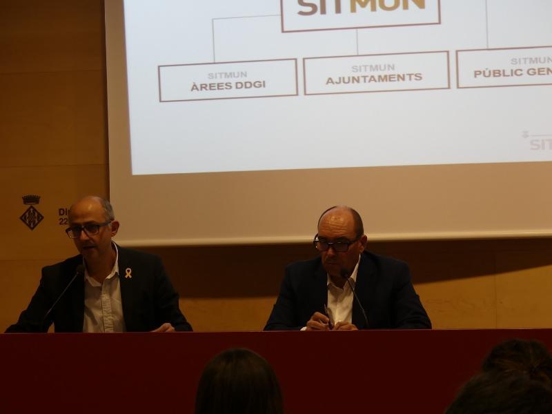 Foto 4: Presentació de la nova integració al Sistema d'Informació Territorial Municipal (SITMUN)<br>