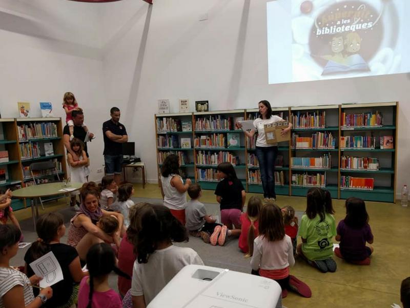 Foto 1 : Biblioteca de La Bisbal<br>