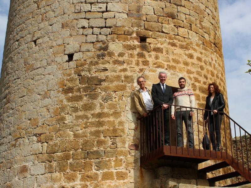 Foto : Torre de les Hores de Pals<br>