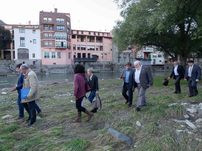 Foto 6: Reunió del Consell d'Alcaldes i Alcaldesses del Ripollès pels efectes de les restes de l'huracà Leslie<br>