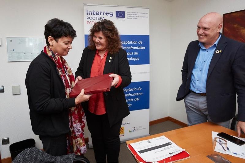 Foto 3 : <p>Seminari de tancament del projecte ECTAdapt, per adaptar l&rsquo;Espai Catal&agrave; Transfronterer al canvi clim&agrave;tic</p>