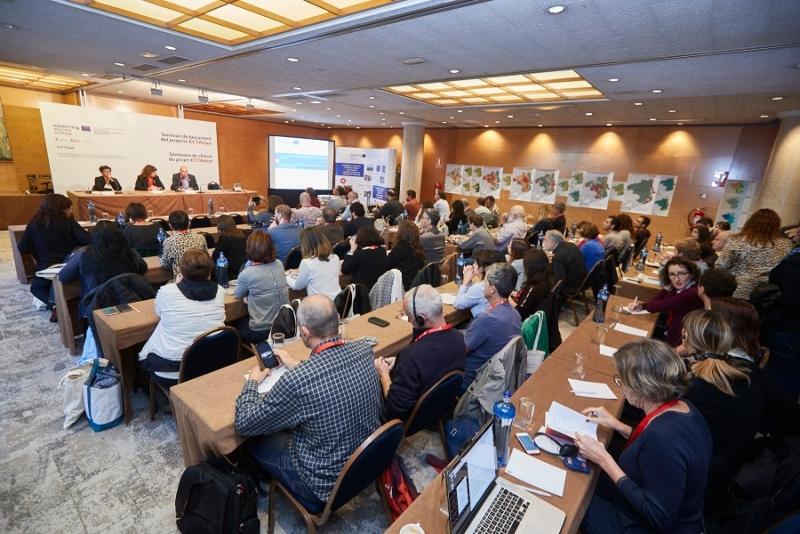 Foto 2 : <p>Seminari de tancament del projecte ECTAdapt, per adaptar l&rsquo;Espai Catal&agrave; Transfronterer al canvi clim&agrave;tic</p>