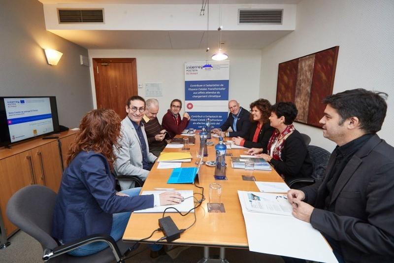 Foto 5: <p>Seminari de tancament del projecte ECTAdapt, per adaptar l&rsquo;Espai Catal&agrave; Transfronterer al canvi clim&agrave;tic</p>