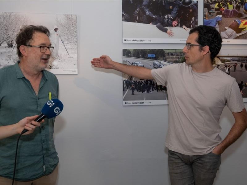 Foto 2 : Inauguració de l'exposició «Rahola foto 2019»