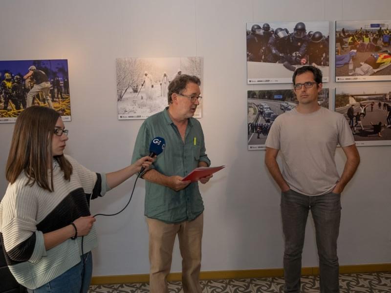 Foto 3 : Inauguració de l'exposició «Rahola foto 2019»