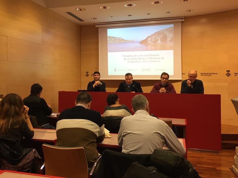 Foto 2 : Sessions participatives sobre la candidatura de la Costa Brava com a Reserva de la Biosfera