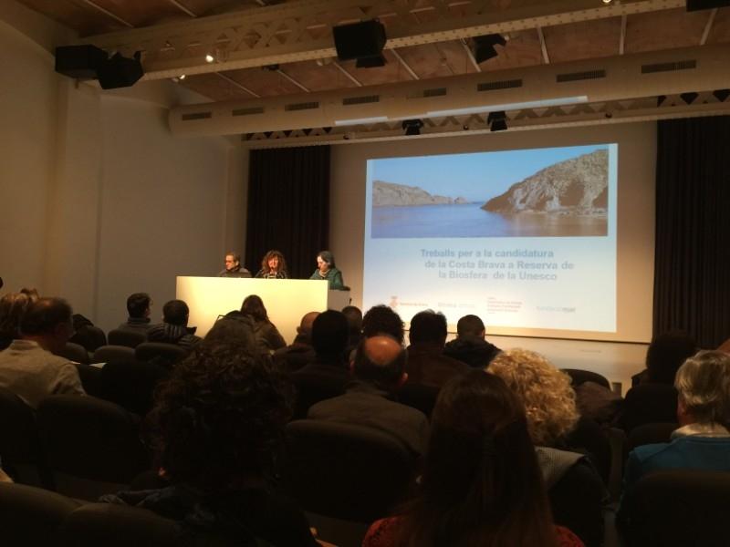 Foto : <p>Presentaci&oacute; del Pla d&rsquo;Acci&oacute; resultant del proc&eacute;s de participaci&oacute; sobre la candidatura de la Costa Brava com a Reserva de la Biosfera</p>