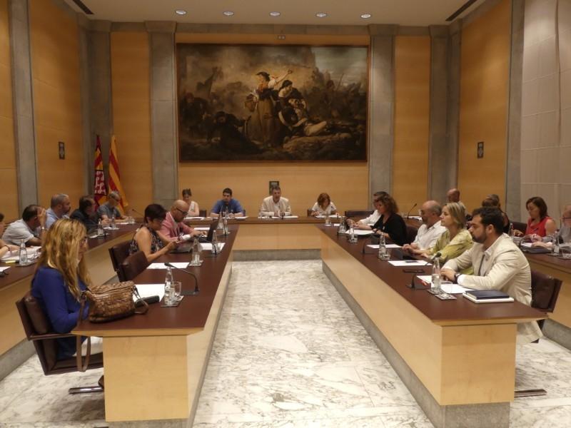 Foto : Nova designació dels membres de la Comissió de Seguiment del Codi de Conducta dels Alts Càrrecs
