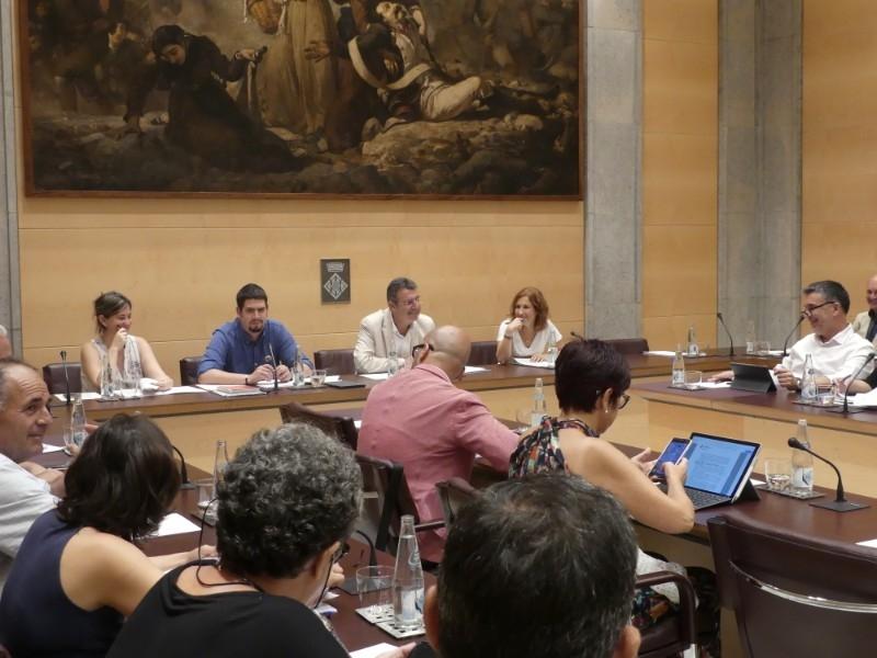 Foto 4: Nova designació dels membres de la Comissió de Seguiment del Codi de Conducta dels Alts Càrrecs