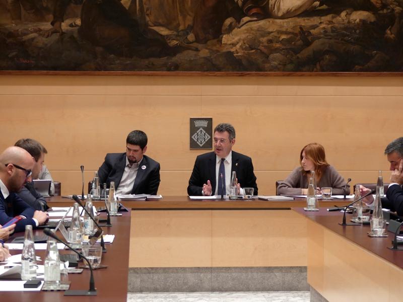 Foto 2 : <p>La Diputaci&oacute; de Girona aprova els primers pressupostos del nou mandat 2019-2023</p>