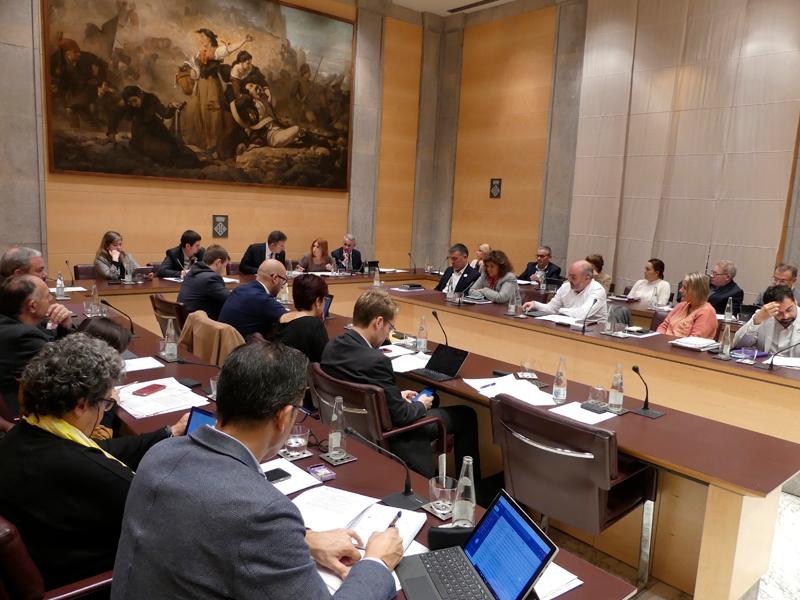 Foto 4: <p>La Diputaci&oacute; de Girona aprova els primers pressupostos del nou mandat 2019-2023</p>