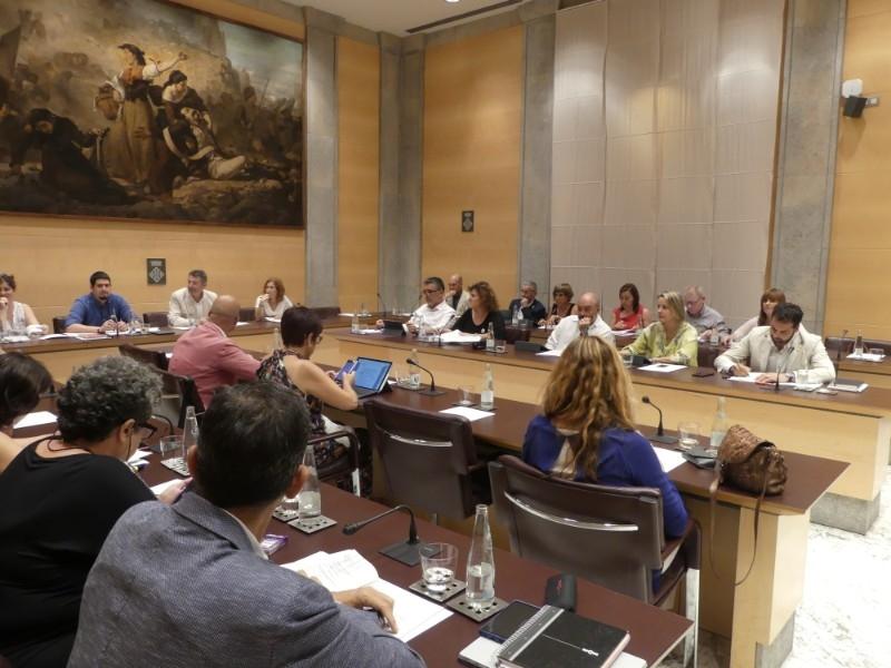 Foto 3 : Nova designació dels membres de la Comissió de Seguiment del Codi de Conducta dels Alts Càrrecs