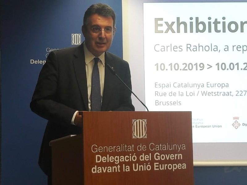 Foto : Brussel·les acull l'exposició «Carles Rahola. Una vida republicana»<br><br>