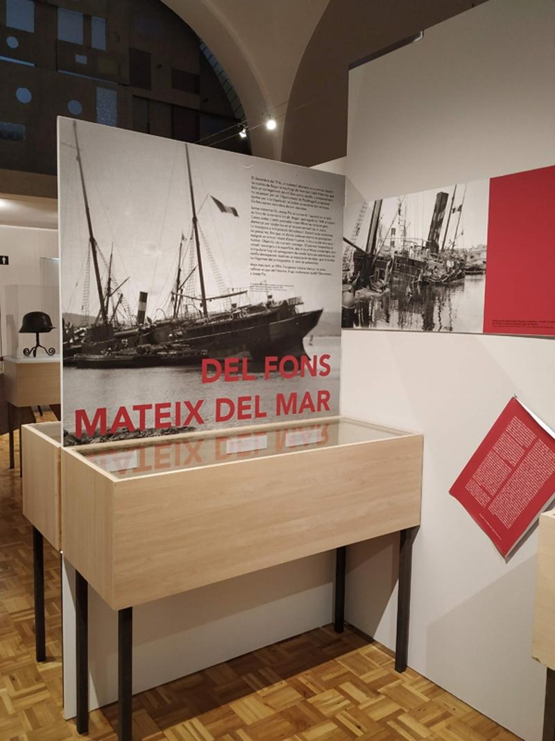 Foto 7: <p>L&rsquo;exposici&oacute; &laquo;Mig Europa cau. Impressions de Josep Pla sobre la Gran Guerra&raquo; arriba a Girona</p>