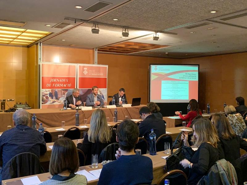 Foto 2 : La sisena sessió del VII Seminari de XALOC torna a versar sobre la contractació pública i el procediment administratiu <br>