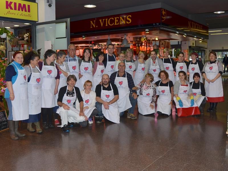 Foto 7: La segona edició d'«Estima el teu mercat» s'inicia amb activitats a cinc mercats de la demarcació de Girona