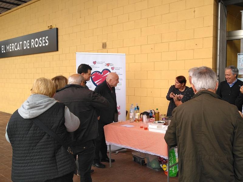 Foto 5: La segona edició d'«Estima el teu mercat» s'inicia amb activitats a cinc mercats de la demarcació de Girona