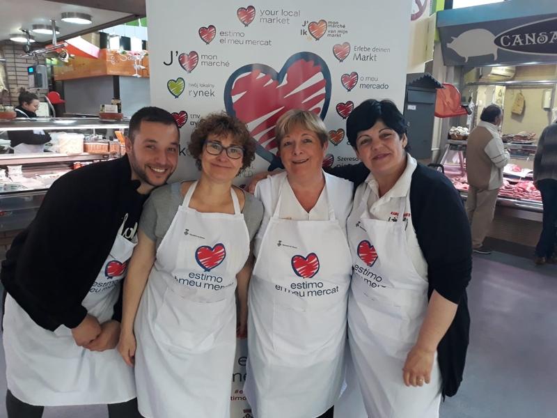 Foto 4: La segona edició d'«Estima el teu mercat» s'inicia amb activitats a cinc mercats de la demarcació de Girona