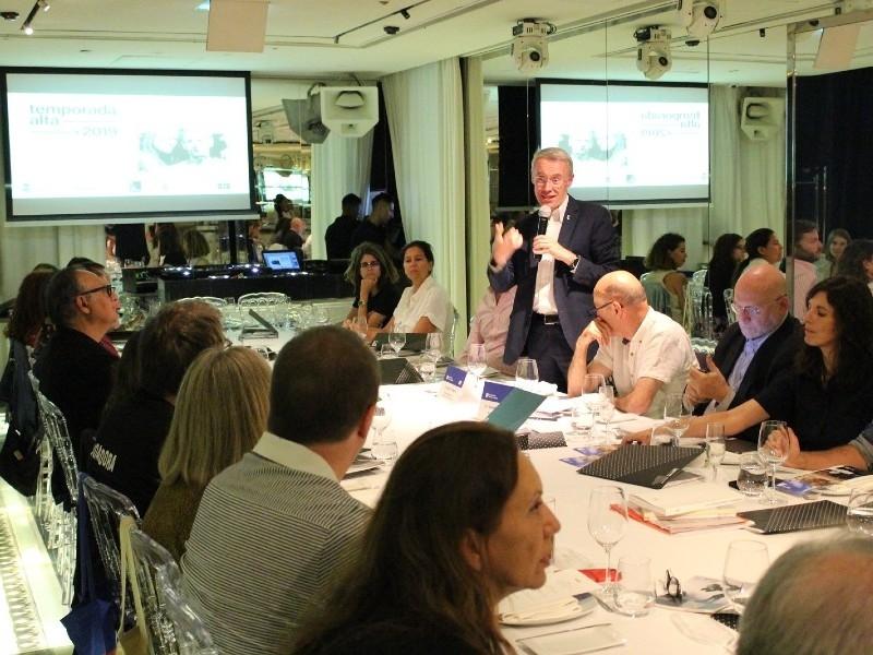 Foto 2 : L'oferta turística cultural gironina i Temporada Alta es presenten a Madrid<br>