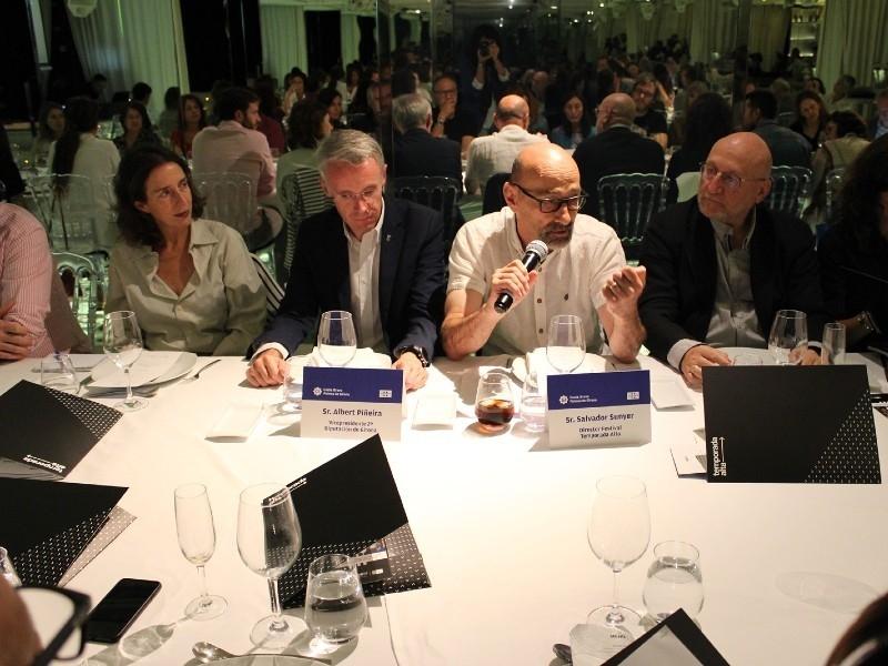 Foto 4: L'oferta turística cultural gironina i Temporada Alta es presenten a Madrid<br>
