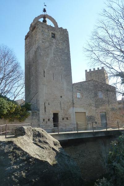 Foto : Torre de les Hores de Peratallada