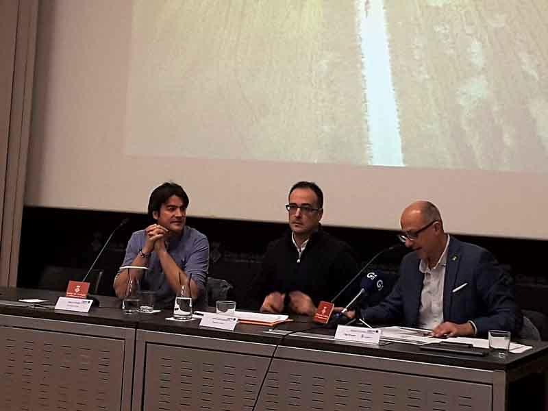 Foto 2 : Es presenten els resultats dels estudis d'impacte econòmic i d'usos de les Vies Verdes de Girona i Pirinexus<br>