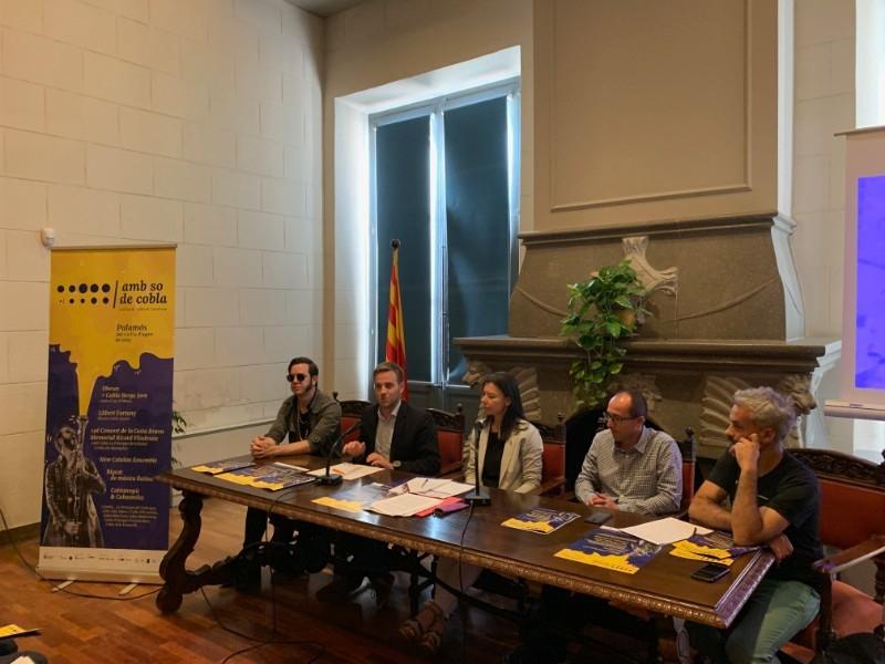 Foto 2 : Tercera edició del festival Amb so de Cobla, a Palamós