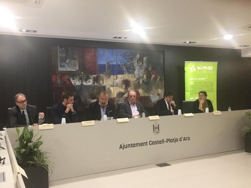 Foto 3 : Presenten el projecte de la residència Els Estanys a Platja d'Aro