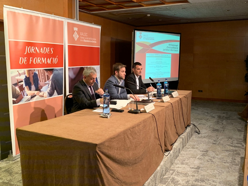 Foto 1 : La sisena sessió del VII Seminari de XALOC torna a versar sobre la contractació pública i el procediment administratiu <br>