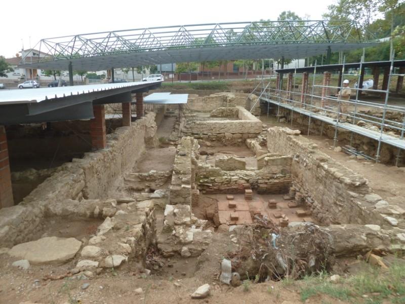 Foto 3 : La Diputació ultima els treballs a la vil·la romana de Sarrià de Ter, una de les més ben conservades de Catalunya