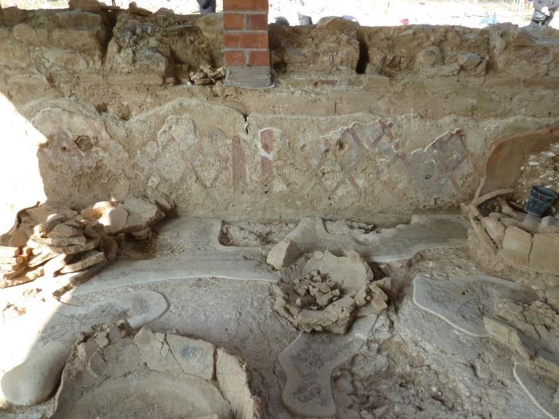 Foto 4: La Diputació ultima els treballs a la vil·la romana de Sarrià de Ter, una de les més ben conservades de Catalunya
