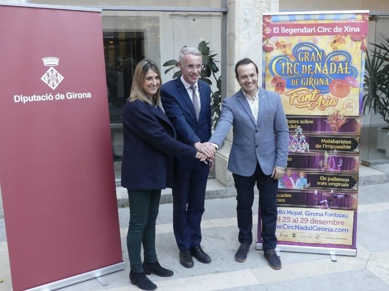 Foto : <p>La sisena edici&oacute; del Gran Circ de Nadal de Girona traslladar&agrave; l&rsquo;espectador a l&rsquo;&Agrave;sia</p>