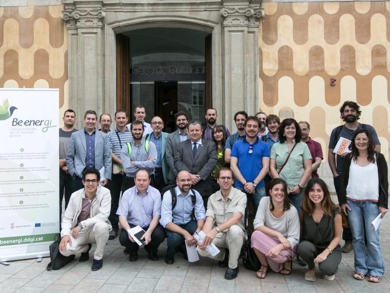 Foto 5: Resultats finals del projecte «BEenerGi», energia sostenible per als municipis gironins