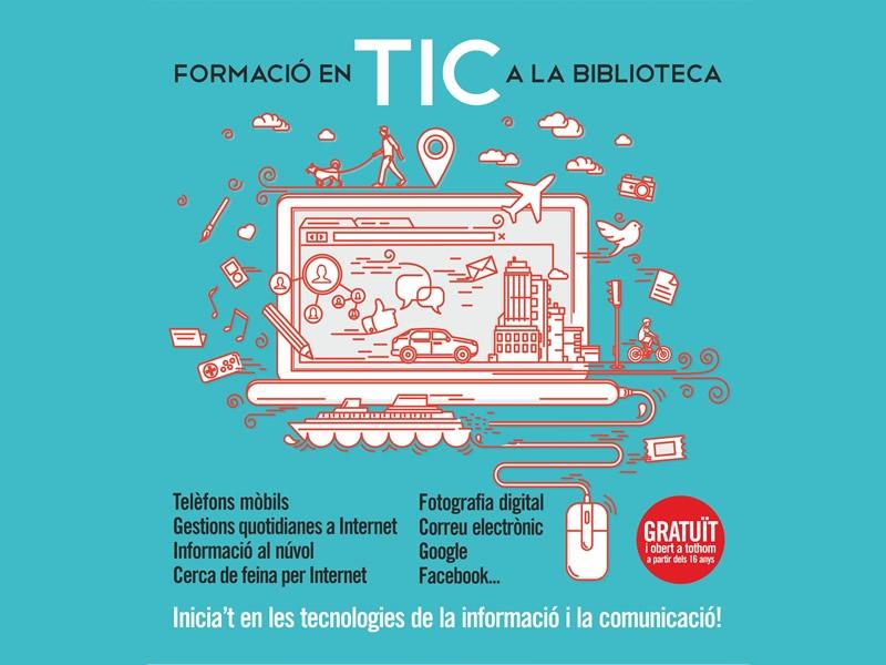 Foto : El Servei de Biblioteques de la Diputació de Girona ha ofert cursos TIC a 1.787 usuaris