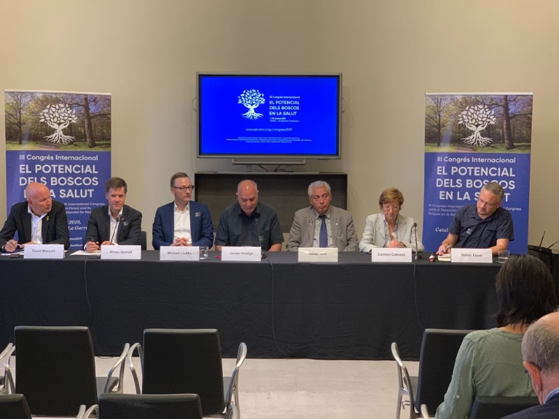 Foto 2 : L'Associació Sèlvans organitza el III Congrés Internacional sobre el Potencial dels Boscos en la Salut<br>