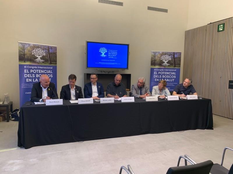 Foto 3 : L'Associació Sèlvans organitza el III Congrés Internacional sobre el Potencial dels Boscos en la Salut<br>