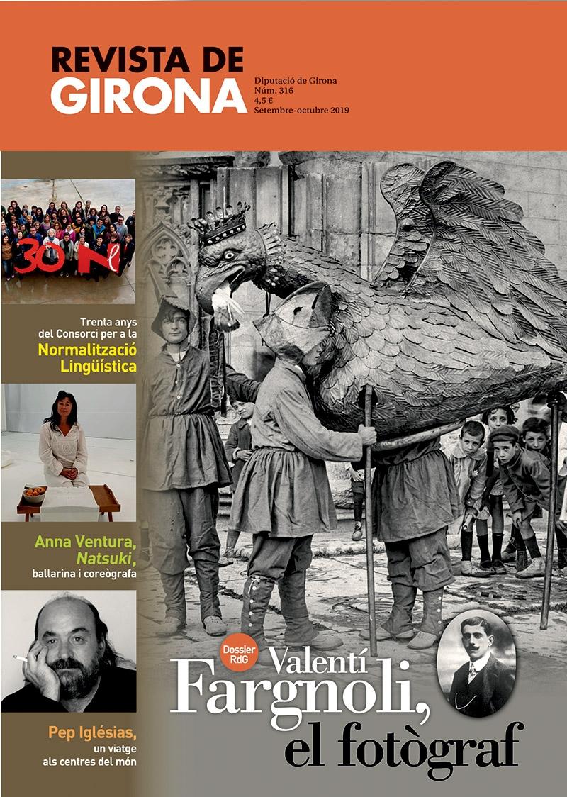 """Foto 1 : La <span style=""""font-style: italic;"""">Revista de Girona</span> dedicada a Valentí Fargnoli es presenta el 19 de setembre a Amer, on s'inaugura una exposició sobre el fotògraf"""