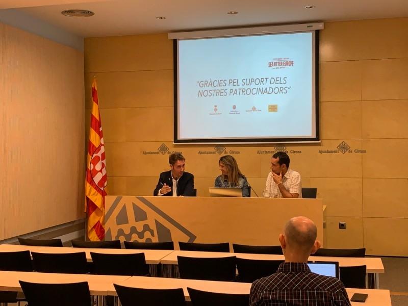 Foto 3 : Presentació dels resultats de la 3a edició de la Sea Otter Europe Costa Brava - Girona Bike Show