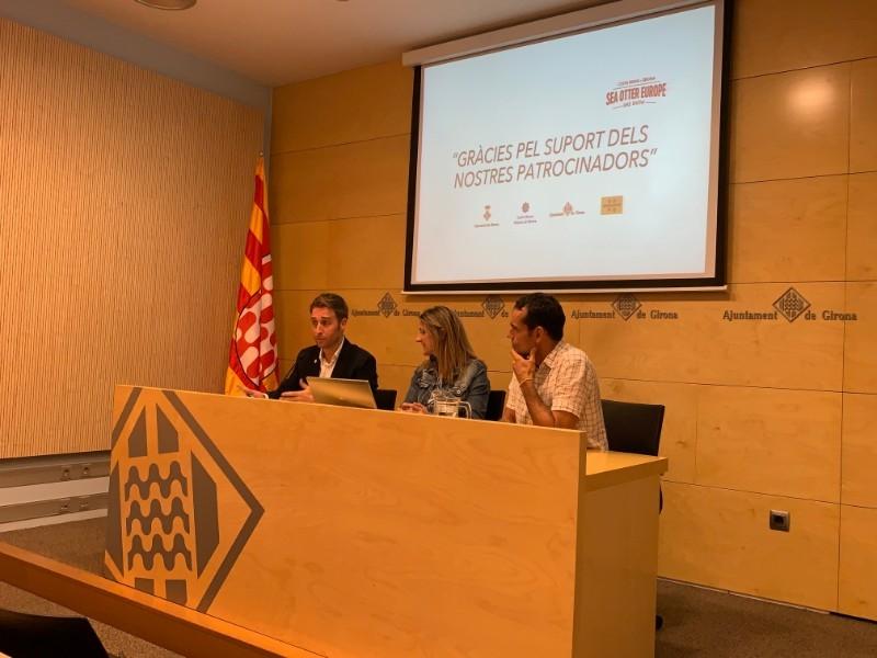 Foto 2 : Presentació dels resultats de la 3a edició de la Sea Otter Europe Costa Brava - Girona Bike Show