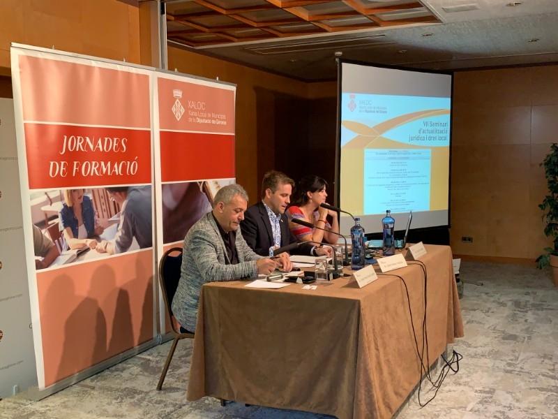 Foto 3 : La cinquena sessió del VII Seminari de XALOC ha tractat sobre la contractació pública i el procediment administratiu<br>