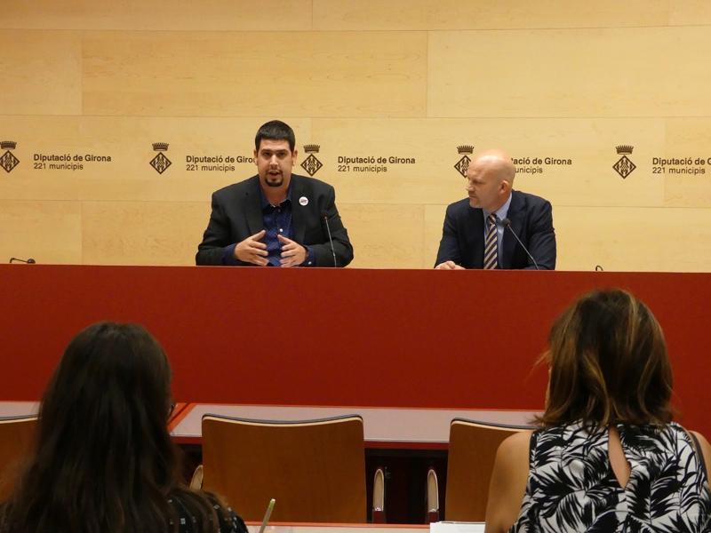 Foto : La Diputació de Girona presenta el programa formatiu per a inversors en col·laboració amb Business Angels Girona en el marc del programa Co-Creix
