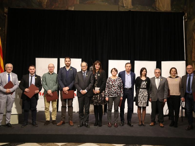 Foto 3 : Cloenda del Centenari de la Xarxa de Biblioteques Populars de Catalunya<br>