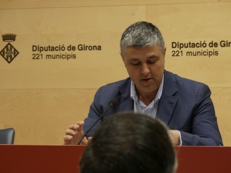 Foto 3 : Es presenta la I Copa Campions - Diputació de Girona, la festa del futbol base gironí
