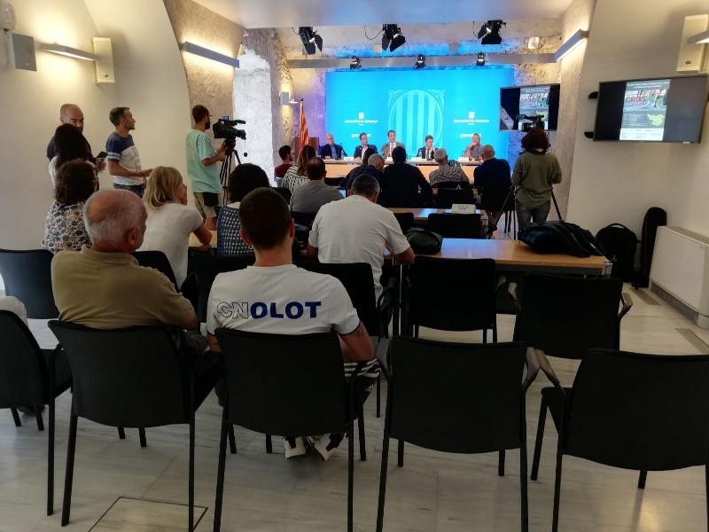 Foto 3 : Presentació del Circuit Gironí de Cros 2019-2020