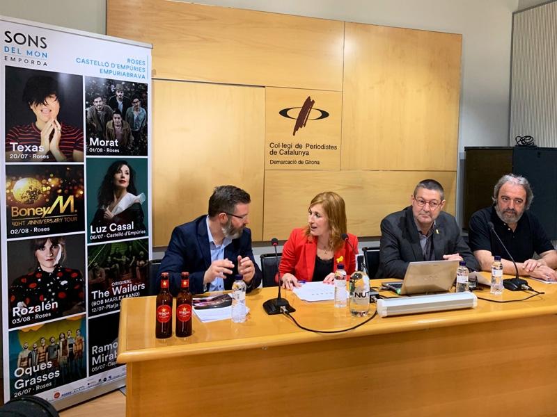 Foto 1 : El festival Sons del Món tornarà a l'Empordà amb grans artistes de renom internacional<br>