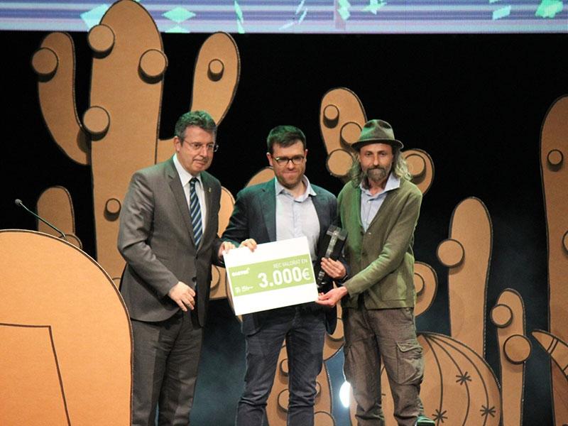 Foto 1 : Entrega dels premis de la cinquena edició dels Premis Cactus<br>