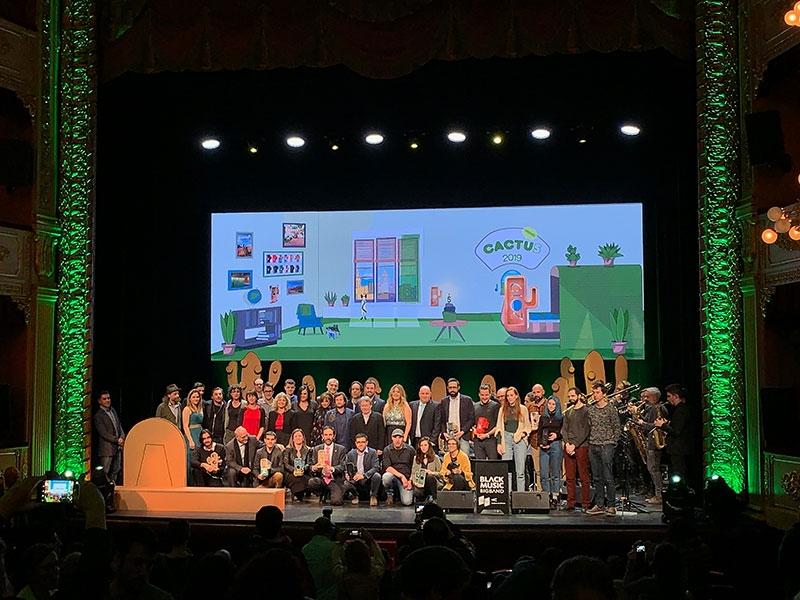 Foto 2 : Entrega dels premis de la cinquena edició dels Premis Cactus<br>