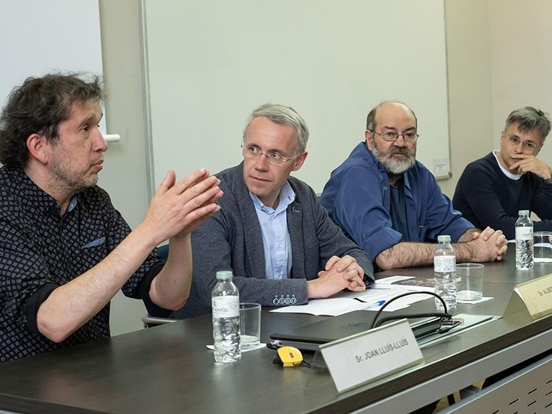 """Foto 2 : Presentació del llibre <span style=""""font-style: italic;"""">Camí de ronda</span>, el nou volum de la col·lecció «Josep Pla», escrit per Jordi Arbonès, <span style=""""font-style: italic;"""">Nif</span>"""