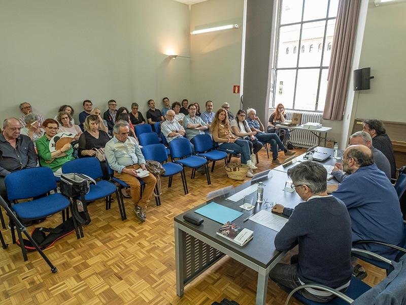 """Foto 3 : Presentació del llibre <span style=""""font-style: italic;"""">Camí de ronda</span>, el nou volum de la col·lecció «Josep Pla», escrit per Jordi Arbonès, <span style=""""font-style: italic;"""">Nif</span>"""